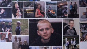 Nathanael Spitzer, 14, died nine months after he was diagnosed with cancer. (Supplied)
