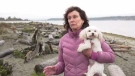 Dianne Donahue says her dog was fatally killed by two larger dogs at Island View Beach.