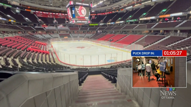 Vaccination needed for fans to see Sens live