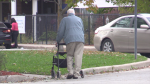 Roberta Place Long-Term Care home in Barrie, Ont., on Thurs., Oct. 14, 2021 (Mike Arsalides/CTV News)