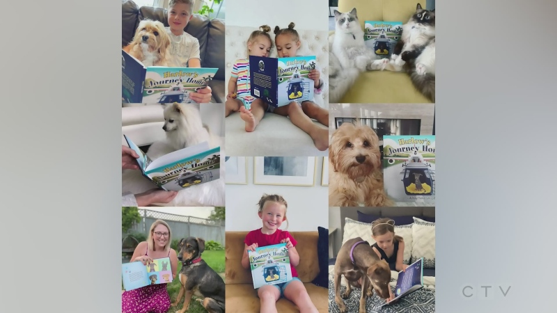 Woman shares story of Caribbean pup rescue