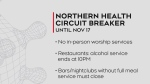 COVID-19 crackdown in Northern Health