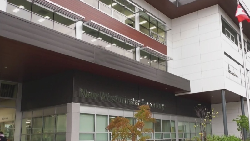The new New Westminster Secondary School officially marked its opening on Thursday with speeches and a ribbon cutting ceremony, after first welcoming students earlier this year.