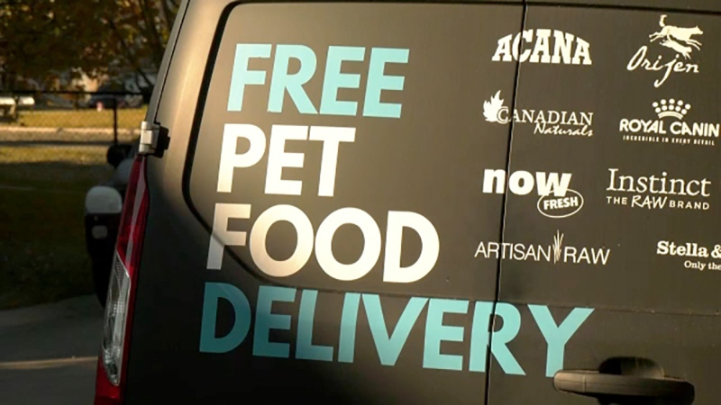 The pandemic has produced a boom in the pet food business that hasn't let up for one Calgary business person