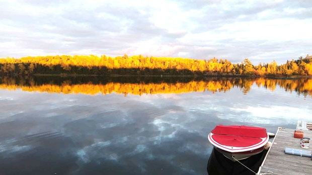 Lake of the Woods morning. Photo by Brian Wheeler.