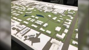 The 3D model of Naawi-Oodena. (Source: Ken Gabel/CTV News)