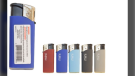 X-Lite Mini Electronic Lighters are shown here. (Health Canada)