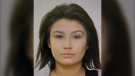 Nicole Frenchman was last seen July 10, 2021, getting into a large pick-up truck with oversized tire and a lift kit. The truck was possibly grey, police said. (Photo provided by Edmonton Police Service)