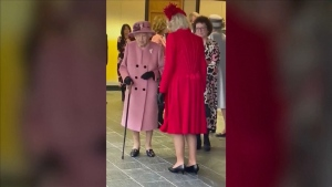 'Irritating': Queen on climate change action