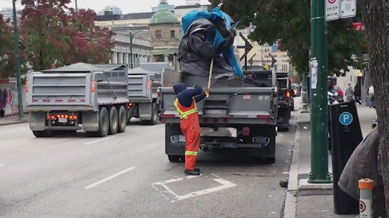 Group calls for end to DTES street sweeps
