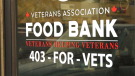 A Canadian Forces combat veteran is partnering with a local brewery to raise funds for the Veterans Association Food Bank