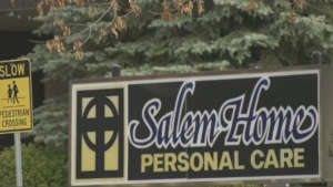 Families with loved ones at Salem Home in Winkler, Man. may need to help care for them beginning the week of Oct. 18, 2021. (Michelle Gerwing/CTV News)