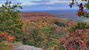 Fall Rhapsody in the late afternoon at the top of King Mountain trail in Gatineau Park. (Lucy Castell/CTV Viewer)