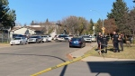 SPS received a report around 2:30 p.m. of a shooting in the 200 block of Northumberland Avenue. (Nicole Di Donato/CTV News)