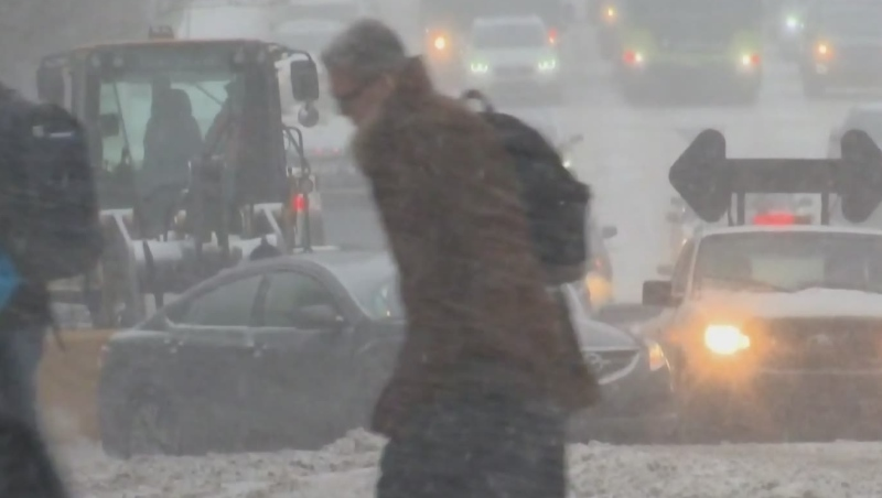 Winter on the way for Montreal