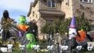Halloween house decorating contest