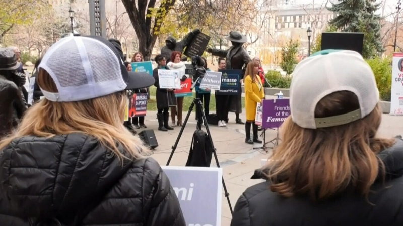 Calgary women rally in run for public office
