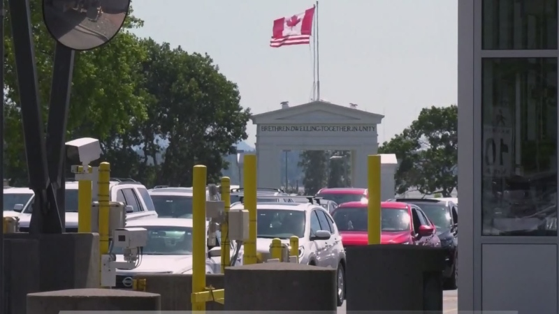 U.S. and Canada land border to reopen Nov. 8