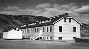 Cross lake residential school