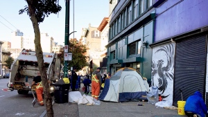Advocates call for end to 'street sweeps'