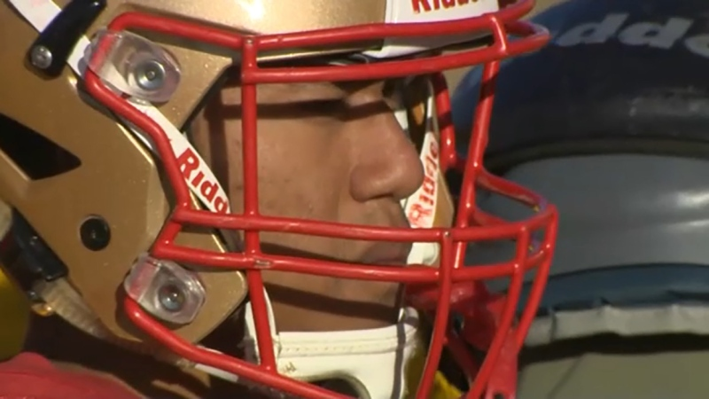 Samuel Seehawer is a Calgary high school football player unlike any other and he's our Athlete of the Week