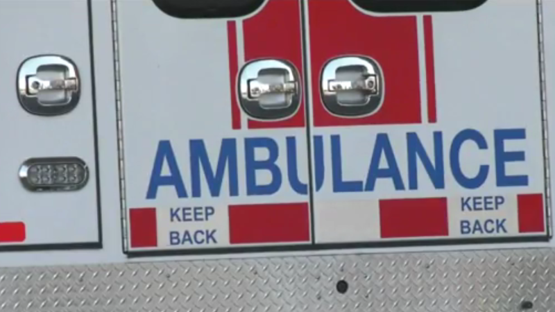 When she called 911 and requested an ambulance, she was told it would be a long wait. After half an hour waiting for an ambulance dispatcher to take her call, she hung up — because by the she'd already arrived at Saanich Peninsula Hospital by taxi. (CTV)