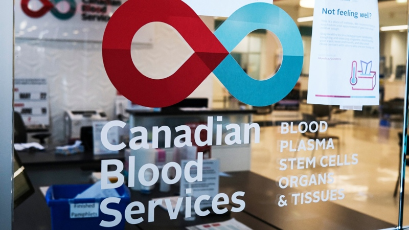 Canadian Blood Services is located on the second floor of Eau Claire Market in Calgary