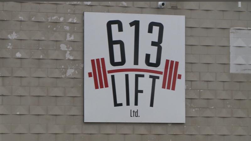 613 Lift on Jamie Avenue in Ottawa. (Ian Urbach / CTV News Ottawa)