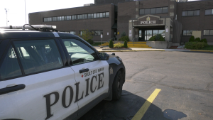 According to Sault Ste. Marie Police Detective Sergeant Jack Rice, who heads the force's Technological Crimes Unit, says there's been increase locally in this 'sextortion' type of crime. He adds victims often find it difficult to come forward. Oct.16/21 (Mike McDonald/CTV News Northern Ontario)
