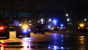 Police in Surrey are investigating a crash that killed a pedestrian in the city late Friday night. (CTV)