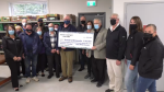 The Elmvale and District Food Bank gathered to celebrate renaming the building after its founder, Michael Stone (Chris Garry/CTV News)