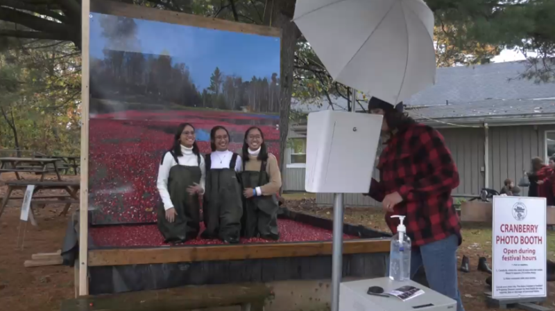 The Cranberry Festival in Bala, Ont., returned after a one-year hiatus (Rob Cooper/CTV News)