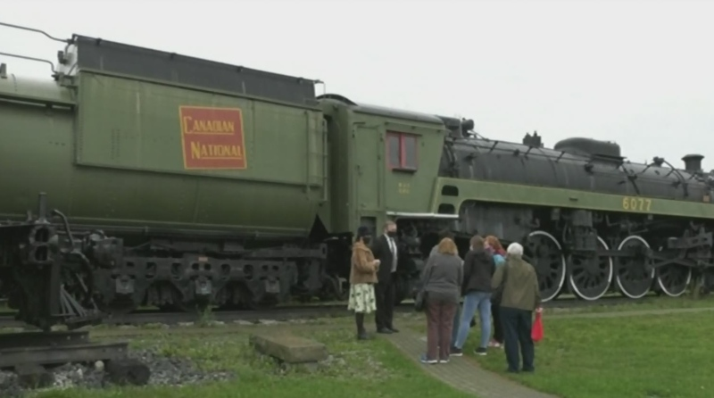 Interactive history at northern rail museum