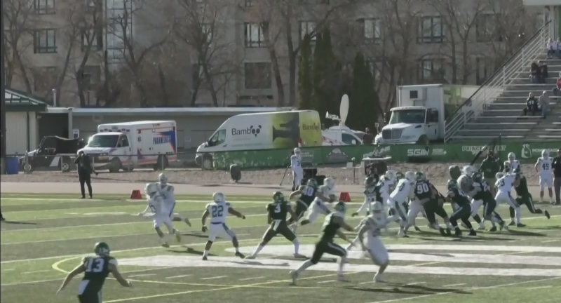 U of S Huskies play first home game in 714 days