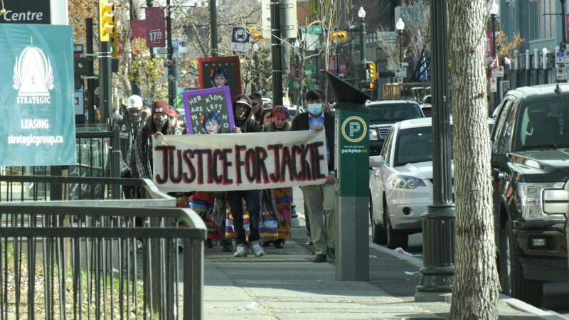 Justice for Jackie walk.