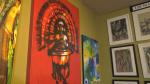 The Chans Art Gallery in southwest Edmonton. Saturday Oct. 16, 2021 (CTV News Edmonton)
