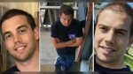 Brett O'Grady, 35, was reported missing from the Avro Circle area in Ottawa's east end on Oct. 14, 2021. He was last seen wearing the clothes in the middle photo. (Photos shared by family)