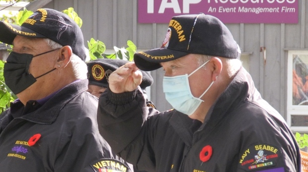 Annual Six Nations Remembrance Day ceremony