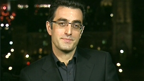 Maziar Bahari, the Canadian journalist who was jailed in Iran, appears on Canada AM, from CTV studios in Ottawa, Friday, Nov. 24, 2009.