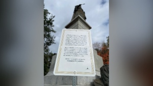 City acknowledges potential harm from statues