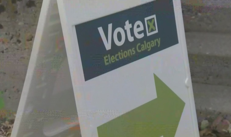 Day before election day in Calgary