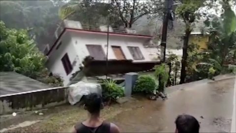 The Indian military has been deployed to help with evacuations as heavy flooding hits the state of Kerala.