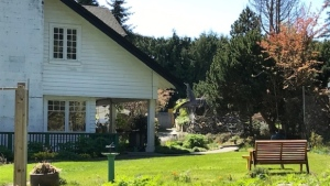 The Sooke Harbour House property is pictured in April 2020: (CTV News)