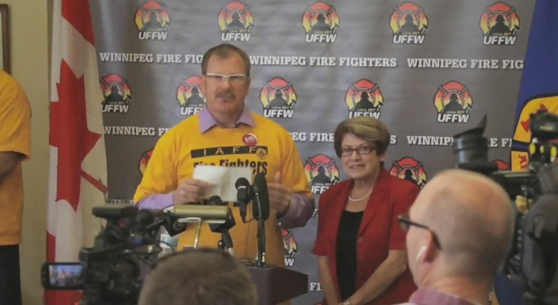 New proposed agreement between firefighters, city