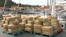 Record haul of cocaine seized from sailboat
