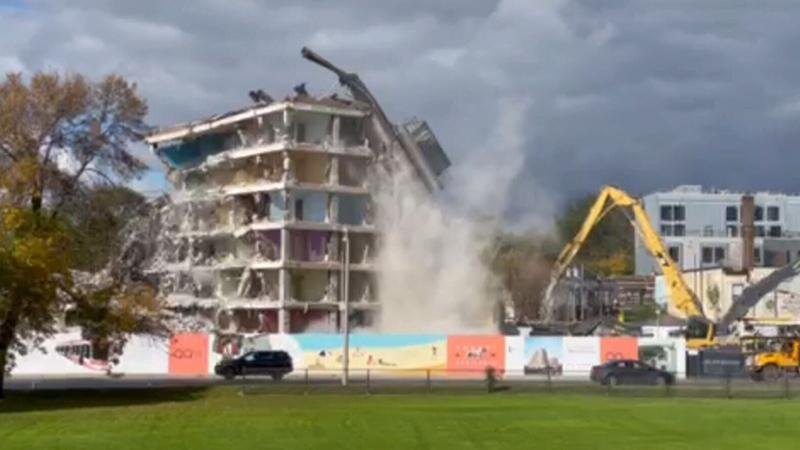 TCHC building demolition