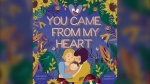 """""""You Came From My Heart"""" tells the story of the birth of Brenlee Coates' daughter Lark. (Image source: The FriesenPress Bookstore)"""