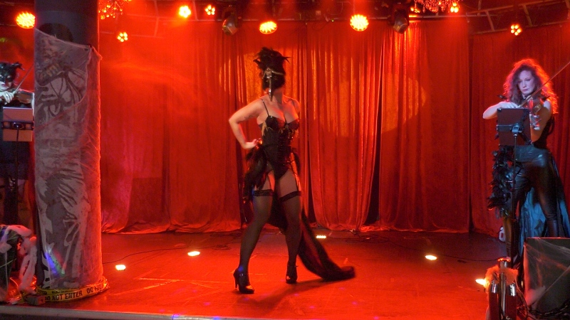 The troupe behind Sudbury Burlesque say they're eager to hit the stage as they return this month for nine performances at the Coulson Nightclub. They're promising something for everyone but in a small, swankier atmosphere. (Ian Campbell/CTV News)