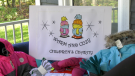 Warm and Cozy Children's Charity in Waubaushene, Ont., needs donations to purchase winter clothing for kids in need. Mon., Oct. 18, 2021 (Steve Mansbridge/CTV News)