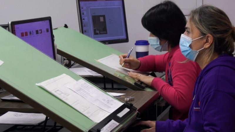 interior design program students